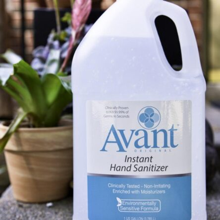 Avant Original Citrus Fragrance Hand Sanitizer 1 Gallon Bottle-Case of 4