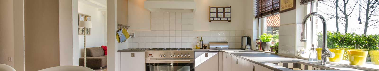Clean and Sanitized Kitchen