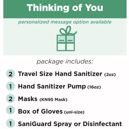 Thinking of You – Send a Package Protect the Personal Space