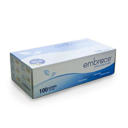 Embrace Nitrile Exam Gloves Extra Large Case 100/Box 10 Boxes/Case